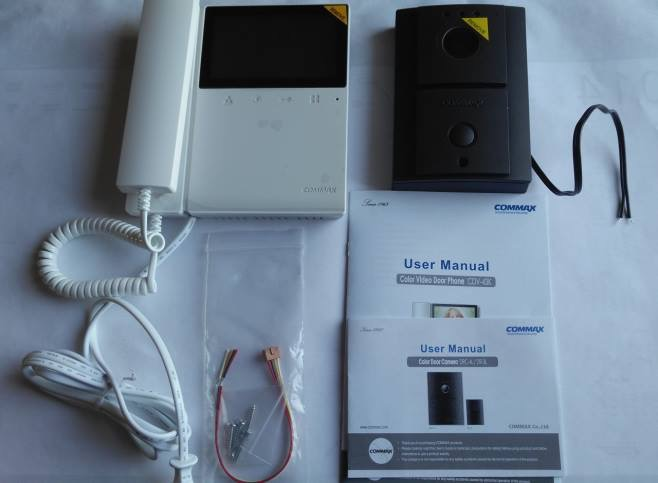 Commax Cdv 43k Combined With The Drc 4l, Commax Intercom Wiring Diagram