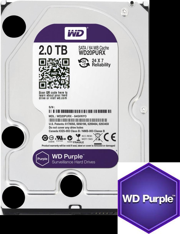 WD Purple 2TB HDD - MEGATEH eu online shop