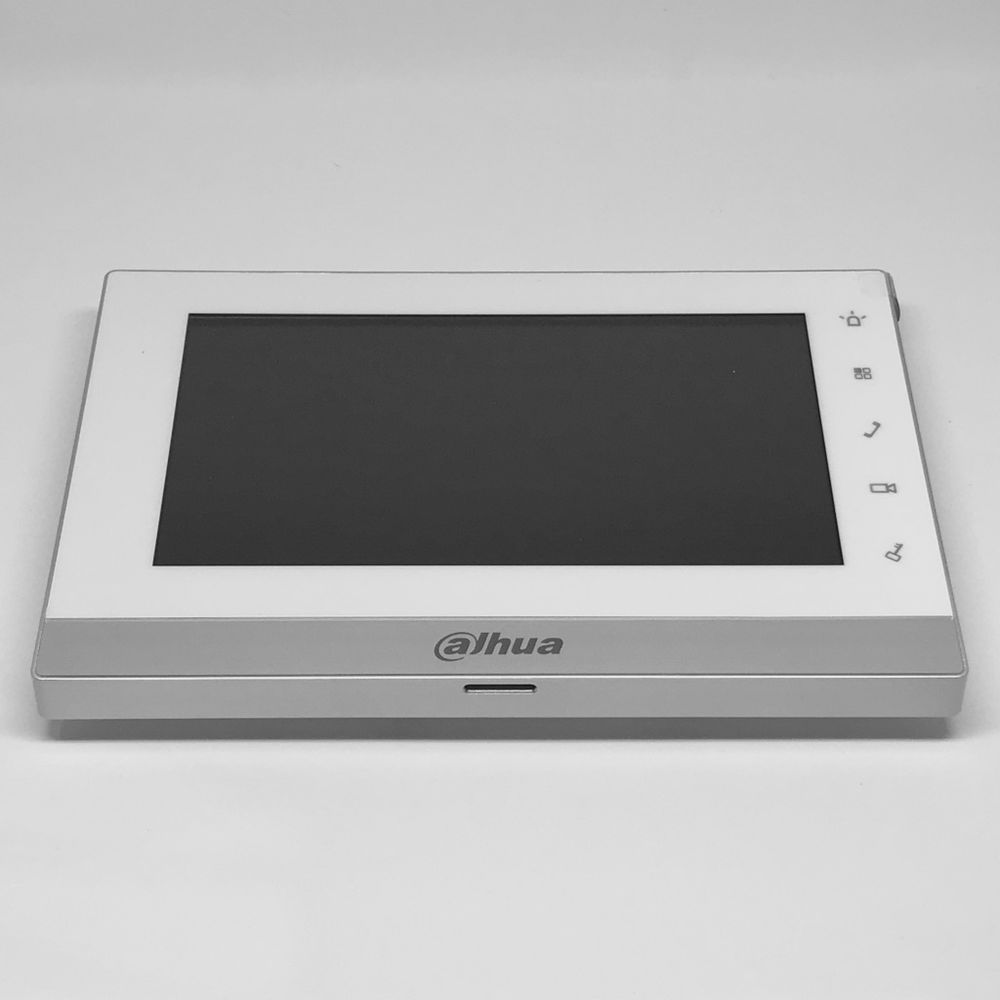 dahua_2 wire _monitor_intercom_1550ch 1 7 inch color indoor monitor vth1550chw 2 megateh security  at bayanpartner.co