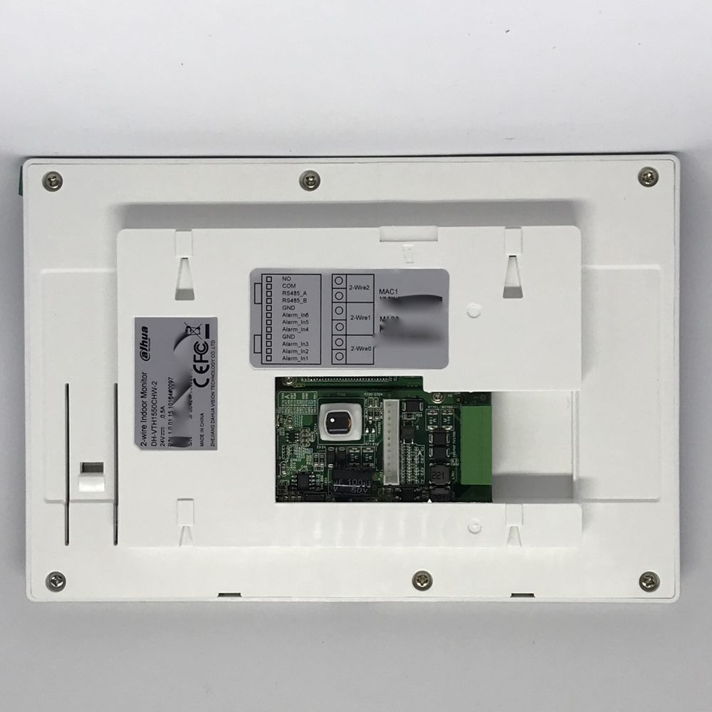 dahua_2 wire_monitor_intercom_1550ch 2 7 inch color indoor monitor vth1550chw 2 megateh security  at bayanpartner.co