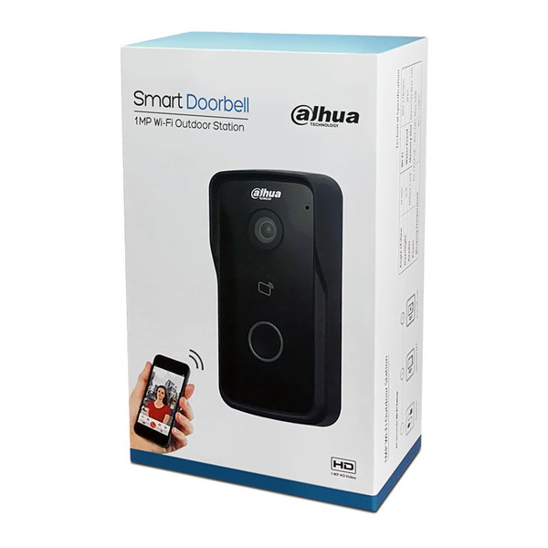 Dahua Vto2111d Wp Smart Video Doorbell Call Mobile Phone