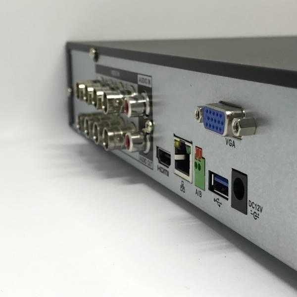 Dahua HCVR7108H-4M Tribrid HDCVI DVR (8 x HDCVI/Analog, 8+4