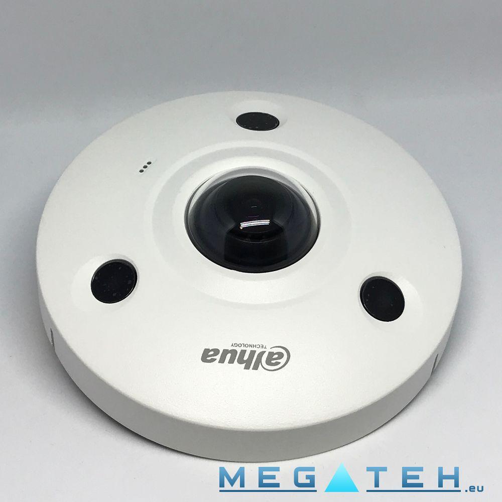 Dahua ipc ebw81230p 12mp panoramic network ir fisheye for Fish eye camera