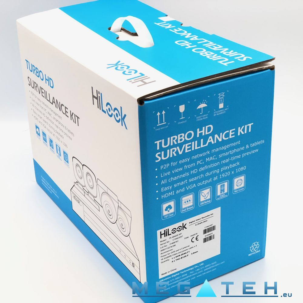 Hilook Hikvision Turbohd Cctv Kit Dvr With 4 Bullet