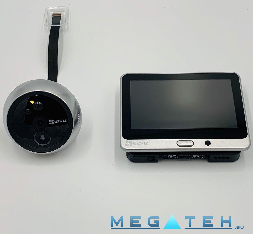 Spioncino Ezviz WiFi / Campanello EZ-CS-DP1-A0-4A1WPFBSR