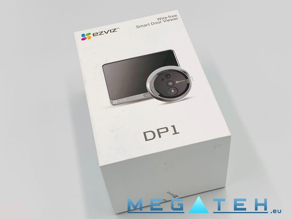 EZVIZ DP1 Wireless Door Viewer, 4 3' Color Touch Screen, Two