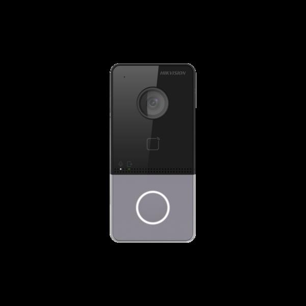 Hikvision DS-KV6113-WPE1 Уличная дверная видеопанель с WiFi, Card Reader and Indicators - видеонаблюдение в Эстонии
